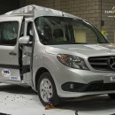 Mercedes-Benz Citan – Podprůměr v crash testech Euro NCAP [video]