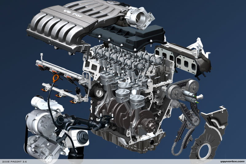 on Vw Vr6 Engine Exploded View