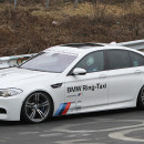 Havárie BMW M5 Ring Taxi [video]