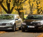 Škoda octavia RS and Škoda Superb TSI (1)