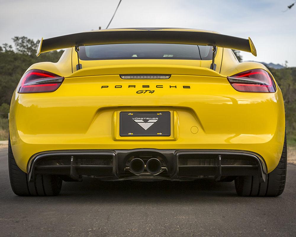 Vorsteiner V-CS Aero 981- Když Porsche Cayman GT4 nestačí ...