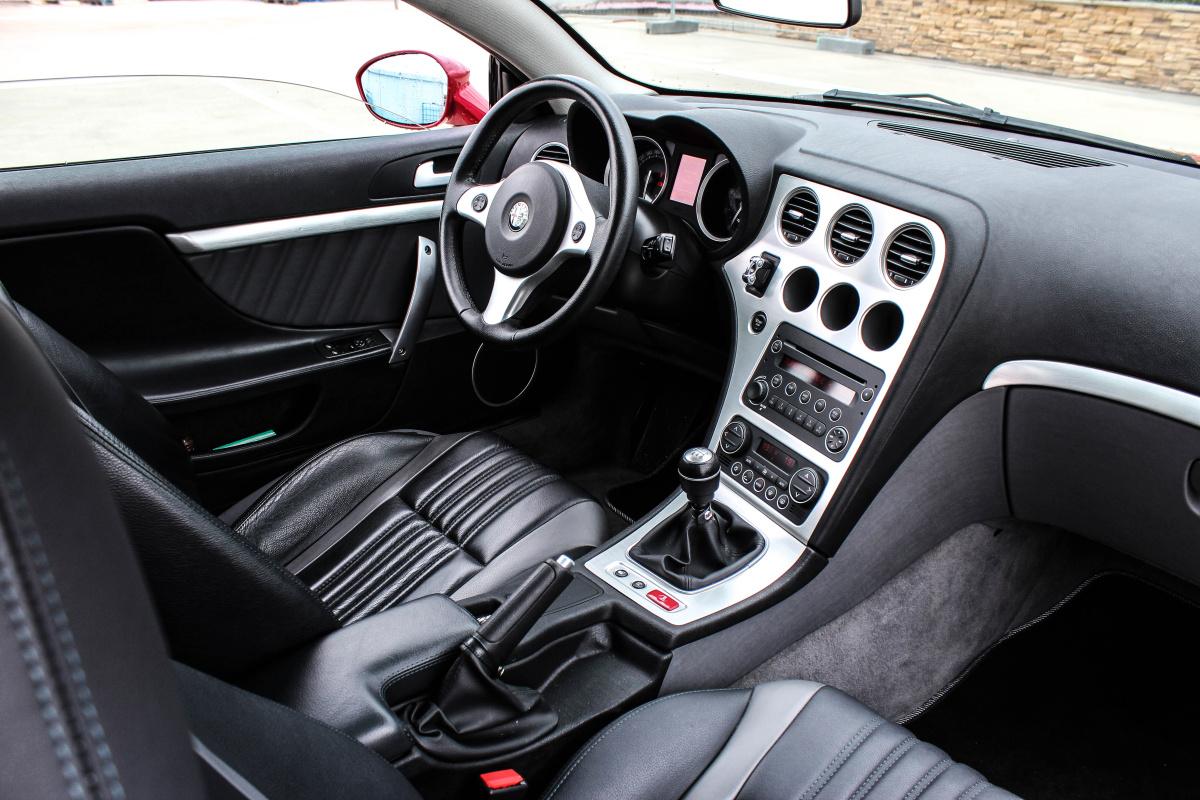 Retro test alfa romeo brera 3 2 jts v6 q4 auto journal - Alfa romeo brera interior ...