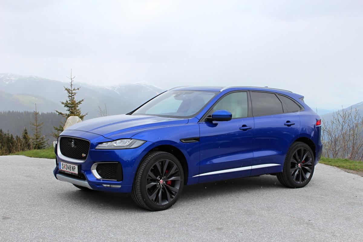 Jaguar F Pace Se Stal Sv Tov M Autem Roku A Tak T M Nejkr Sn J M Auto Journal