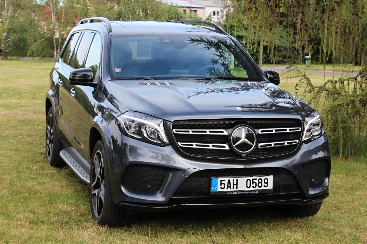 Test mercedes benz gls 350 cdi auto journal for Mercedes benz gls 2016