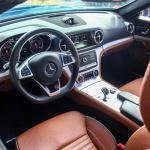 mercedes-benz SL 400 interior (2)