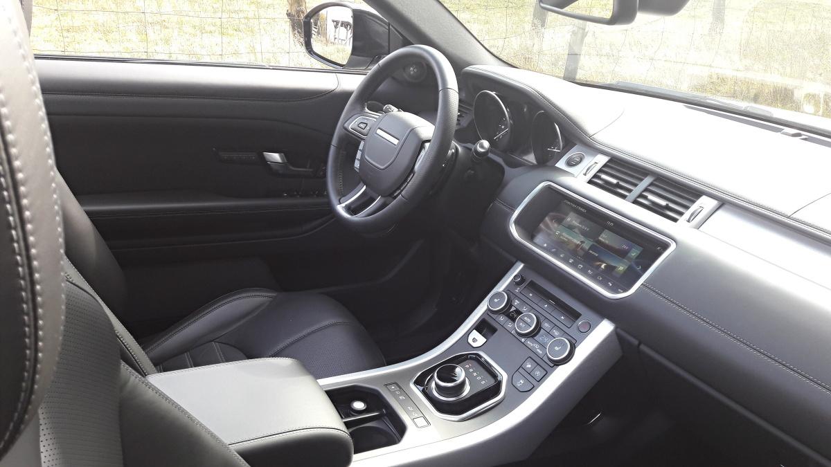test range rover evoque cabriolet td4 hse auto journal. Black Bedroom Furniture Sets. Home Design Ideas