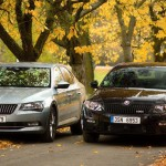 Škoda octavia RS and Škoda Superb TSI (1)