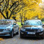 Škoda octavia RS and Škoda Superb TSI (3)