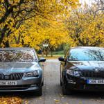 Škoda octavia RS and Škoda Superb TSI (4)