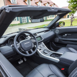 range rover evoque convertible interior (5)