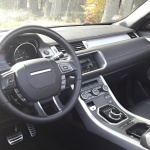 range rover evoque convertible interior (2)