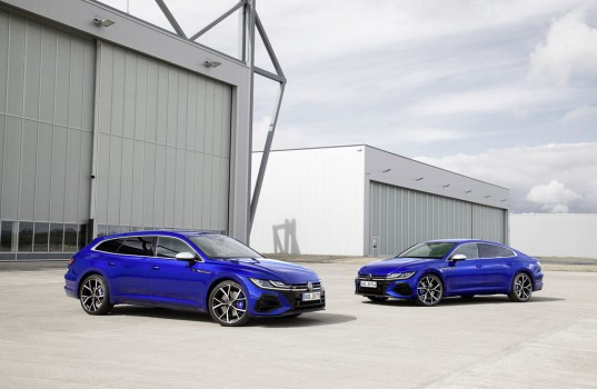 Volkswagen Arteon Shooting Brake R and Arteon R